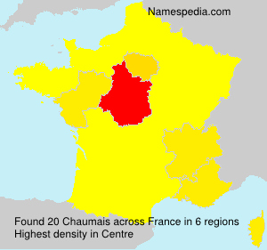 Surname Chaumais in France