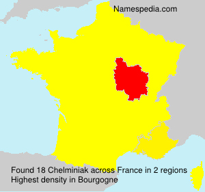 Surname Chelminiak in France