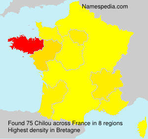 Surname Chilou in France