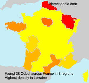 Surname Cobut in France