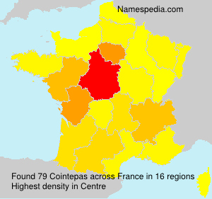 Surname Cointepas in France