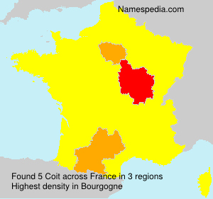 Surname Coit in France