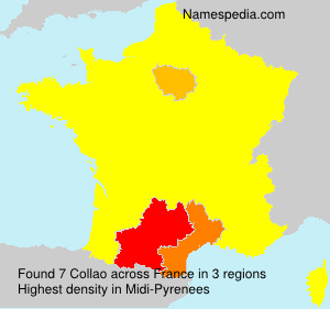 Surname Collao in France