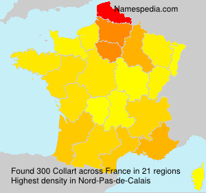 Surname Collart in France