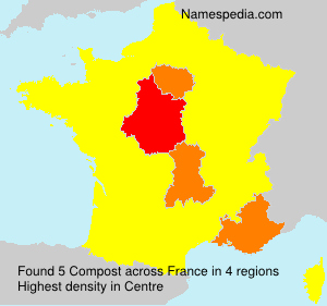 Surname Compost in France