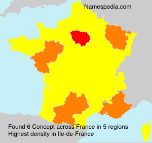 Surname Concept in France