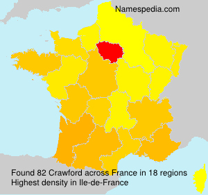 Surname Crawford in France