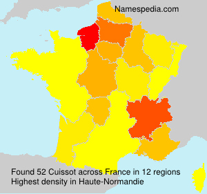 Surname Cuissot in France