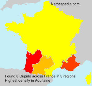 Surname Cupido in France