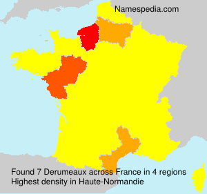 Surname Derumeaux in France
