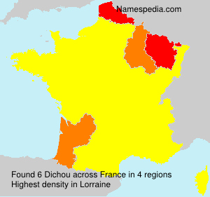 Surname Dichou in France