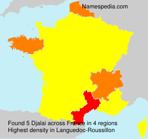 Surname Djalai in France