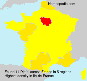 Surname Djefal in France