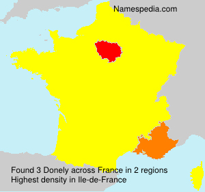 Surname Donely in France