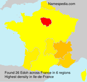Surname Edoh in France