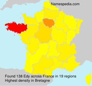 Surname Edy in France