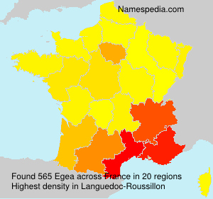 Surname Egea in France