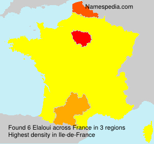 Surname Elaloui in France