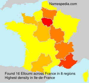 Surname Elloumi in France