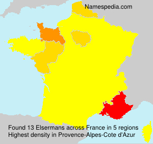 Surname Elsermans in France