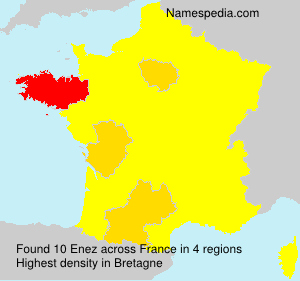 Surname Enez in France