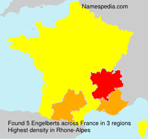 Surname Engelberts in France