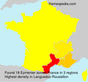 Surname Eymenier in France
