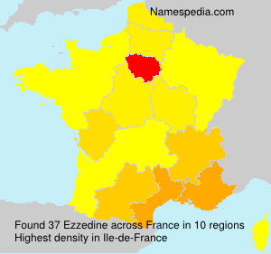 Surname Ezzedine in France