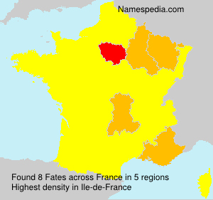 Surname Fates in France