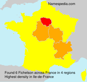 Surname Fichelson in France