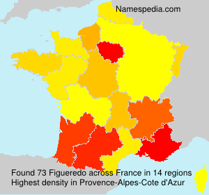 Surname Figueredo in France
