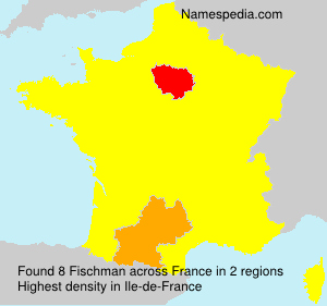 Surname Fischman in France