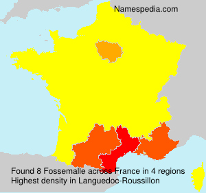 Surname Fossemalle in France
