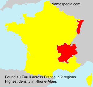 Surname Furuli in France