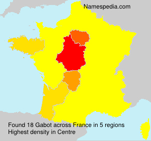 Surname Gabot in France