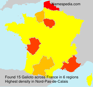 Surname Galioto in France