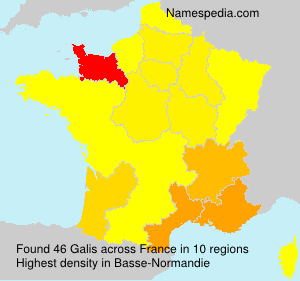 Surname Galis in France