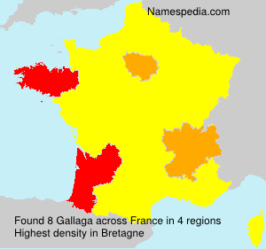 Surname Gallaga in France