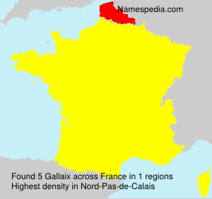 Surname Gallaix in France