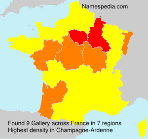 Surname Gallery in France