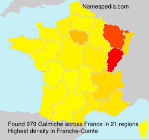 Surname Galmiche in France