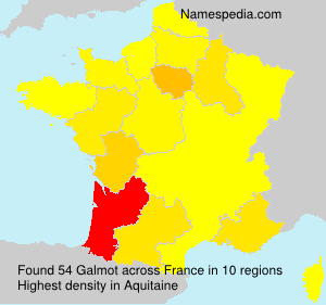 Surname Galmot in France