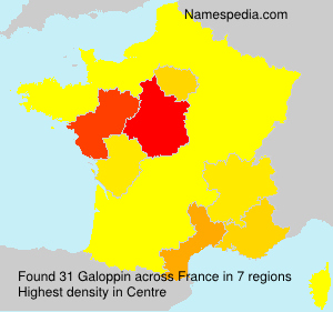 Surname Galoppin in France