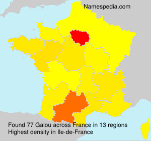 Surname Galou in France