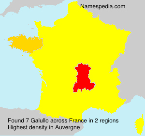 Surname Galullo in France
