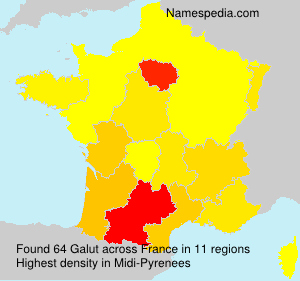 Surname Galut in France