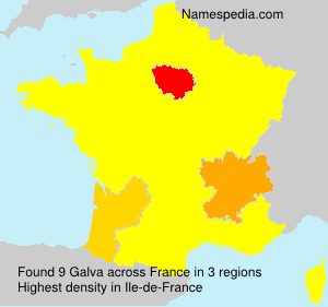 Surname Galva in France