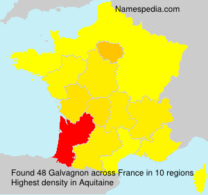 Surname Galvagnon in France