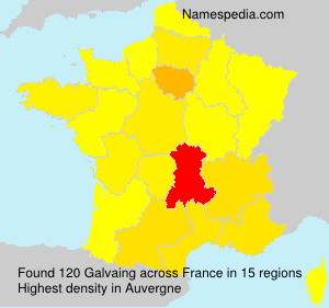 Surname Galvaing in France