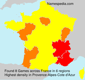 Surname Games in France